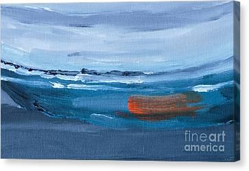 Adrift Canvas Print by Caffrey Fielding