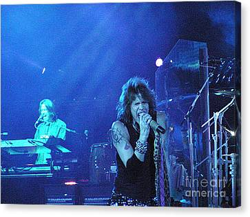 Aerosmith-steven Tyler-00107 Canvas Print by Gary Gingrich Galleries