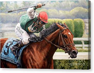Afleet Alex Canvas Print by Thomas Allen Pauly