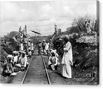 Africa: Railway, C1905 Canvas Print by Granger