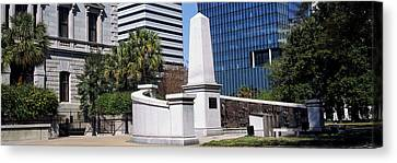 African American History Monument Canvas Print by Panoramic Images