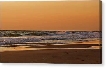 After A Sunset Canvas Print by Sandy Keeton