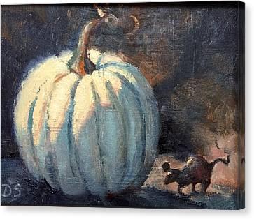 After Midnight Canvas Print by Donna Shortt