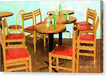 After Party Canvas Print by Debbi Granruth