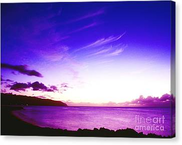 After Sunset North Shore Canvas Print by Thomas R Fletcher