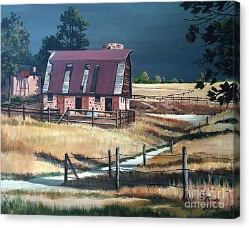 After The Storm Canvas Print by Suzanne Schaefer