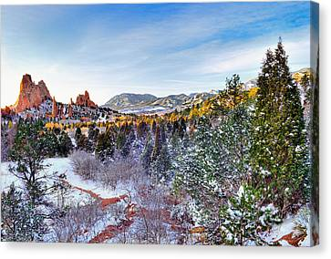 After The Storm Canvas Print by Tim Reaves