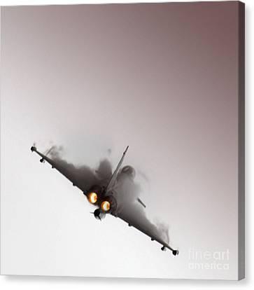 Afterburner Canvas Print by Angel  Tarantella