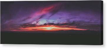 Afterglow 1 Canvas Print by Lonnie Christopher