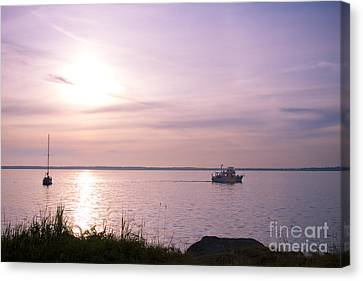 Afternoon Ambiance Canvas Print by Idaho Scenic Images Linda Lantzy