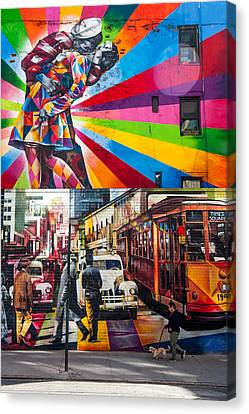 Afternoon In Chelsea Canvas Print by Az Jackson