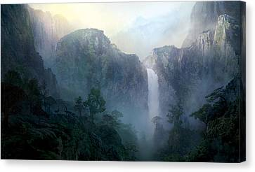 Afternoon Light Canvas Print by Philip Straub