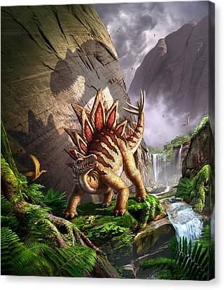 Against The Wall Canvas Print by Jerry LoFaro