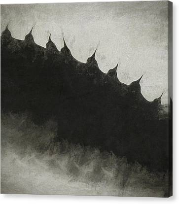 Agave Impression Five Canvas Print by Carol Leigh