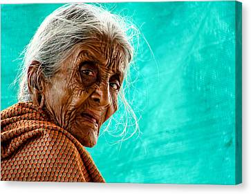 Age Is Just A Number Canvas Print by Ram Prasad