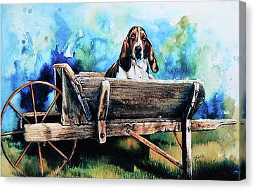 Ah Pooey Canvas Print by Hanne Lore Koehler