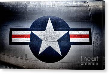 Air Force Canvas Print by Olivier Le Queinec