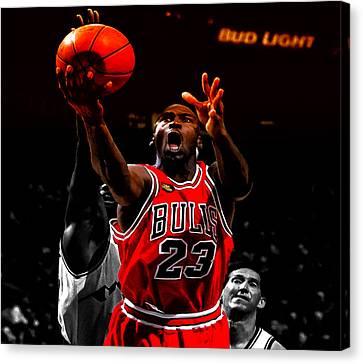 Air Jordan Soft Touch II Canvas Print by Brian Reaves
