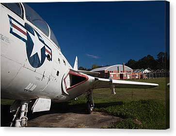 Airplane At A Historic Site, Tuskegee Canvas Print by Panoramic Images