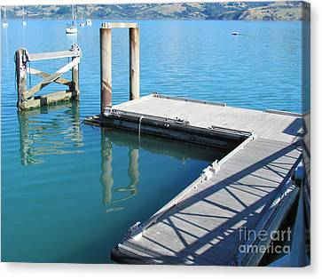Akaroa  Canvas Print by Joyce Woodhouse
