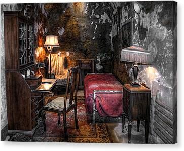 Al Capone Cell Canvas Print by Svetlana Sewell