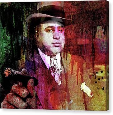 Al Capone Canvas Print by Mal Bray