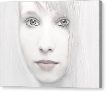 Alabaster-face Canvas Print by Joachim G Pinkawa