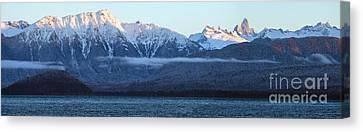 Alaska Coastal Range Panorama Canvas Print by Mike Reid