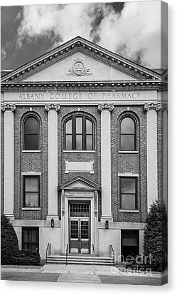 Albany College Of Pharmacy O' Brien Building Canvas Print by University Icons