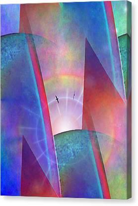 Albatross Rising Canvas Print by Tim Allen