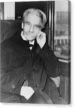 Albert Schweitzer 1875-1965 Received Canvas Print by Everett