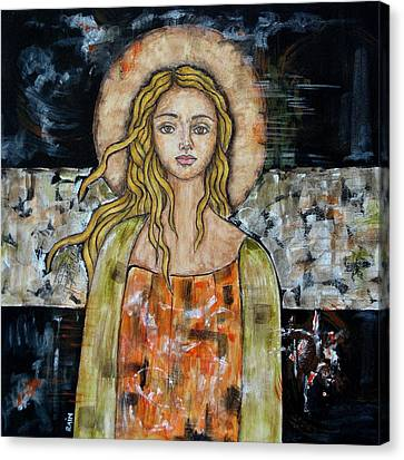 Alberta Canvas Print by Rain Ririn
