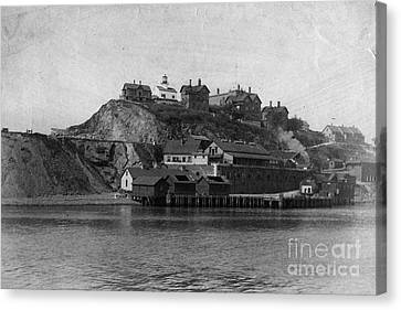 Alcatraz Island Canvas Print by Frederick Holiday