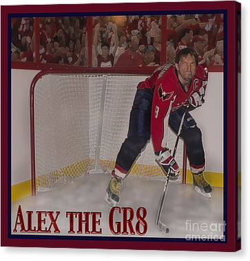 Alex The Great Canvas Print by Mark Stephens