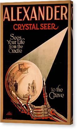 Alexander Crystal Seer 2 Canvas Print by David Wagner