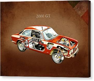 Alfa Romeo 2000 Gt 1971 Canvas Print by Mark Rogan