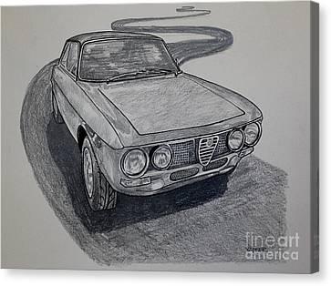 Alfa Romeo Gtv  Canvas Print by Robert Yaeger