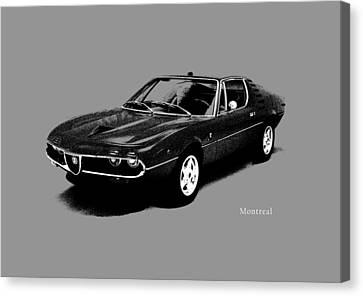 Alfa Romeo Montreal Canvas Print by Mark Rogan