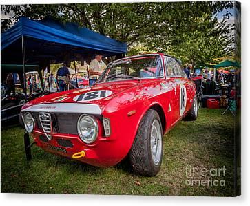Alfa Romeo Sprint Gt Canvas Print by Adrian Evans