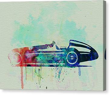 Alfa Romeo Tipo Watercolor Canvas Print by Naxart Studio