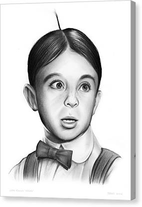 Alfalfa Canvas Print by Greg Joens