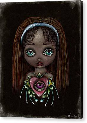 Alicia Canvas Print by  Abril Andrade Griffith