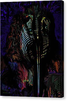 Alien Portrait Canvas Print by Natalie Holland