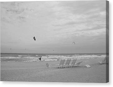 All Alone Canvas Print by Rob Hans