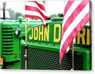All American Deere Canvas Print by Heather Allen