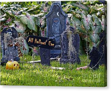 All Hallows Eve Canvas Print by Diann Fisher