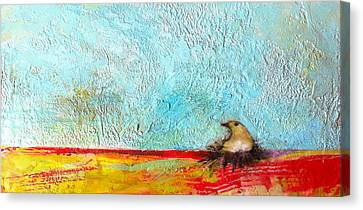 All In Due Time Canvas Print by Barbara Hranilovich
