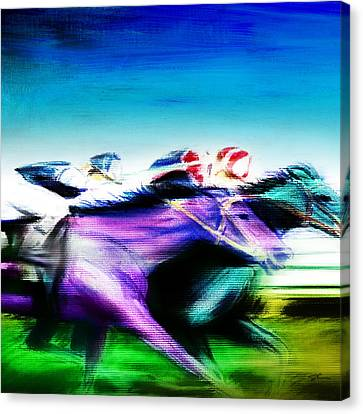 All Out 2 Canvas Print by Shevon Johnson