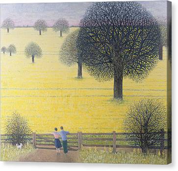 All That Yellow  Canvas Print by Pat Scott