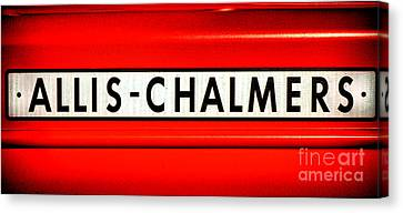 Allis Chalmers Canvas Print by Olivier Le Queinec